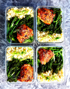 meal prep leads to weight loss